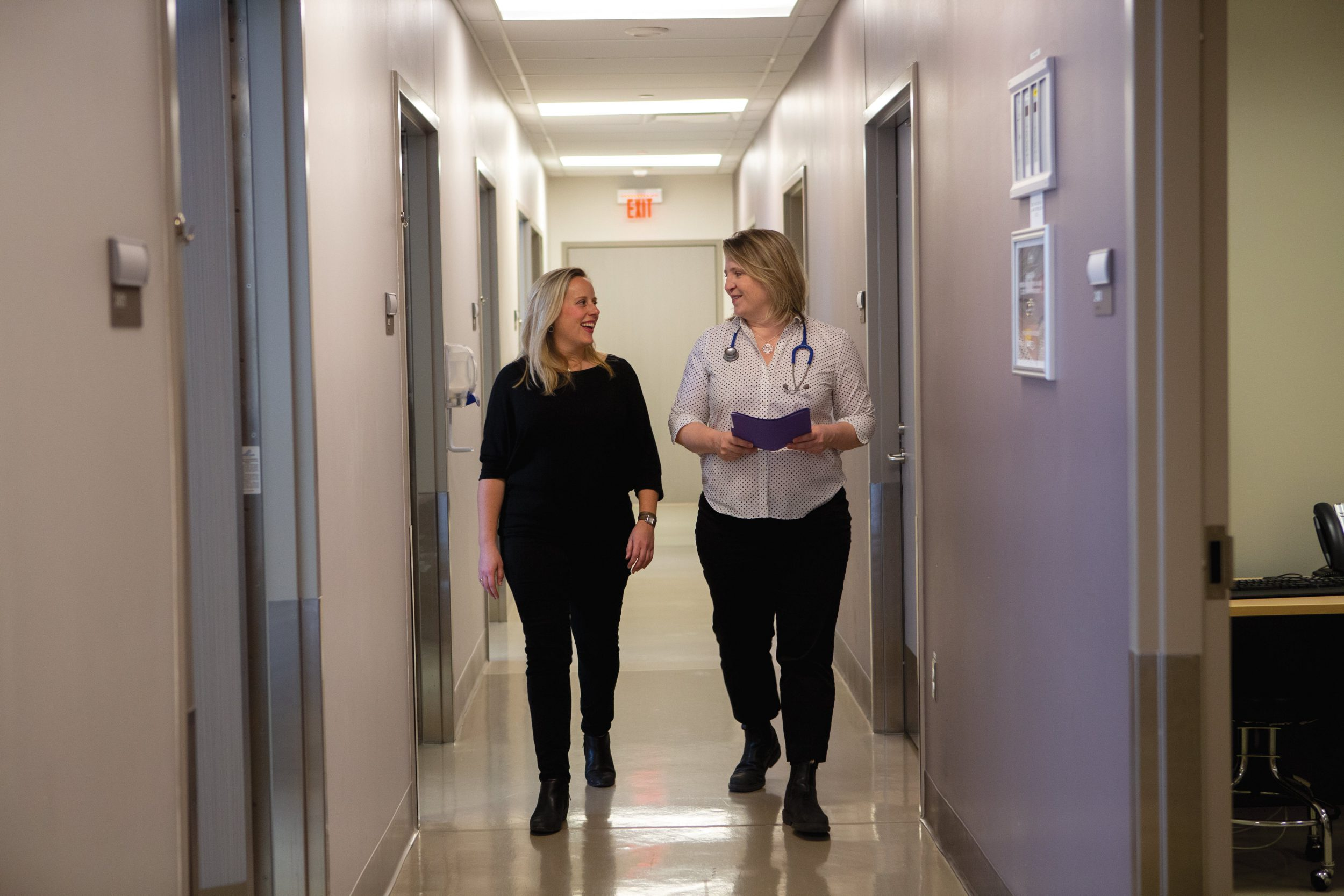 Patient: Bridget and Dr. Sarah Warden